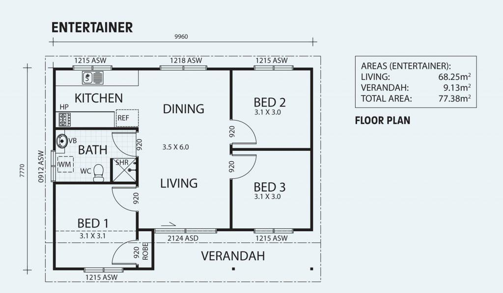 Bed-Living-Dining-Bath